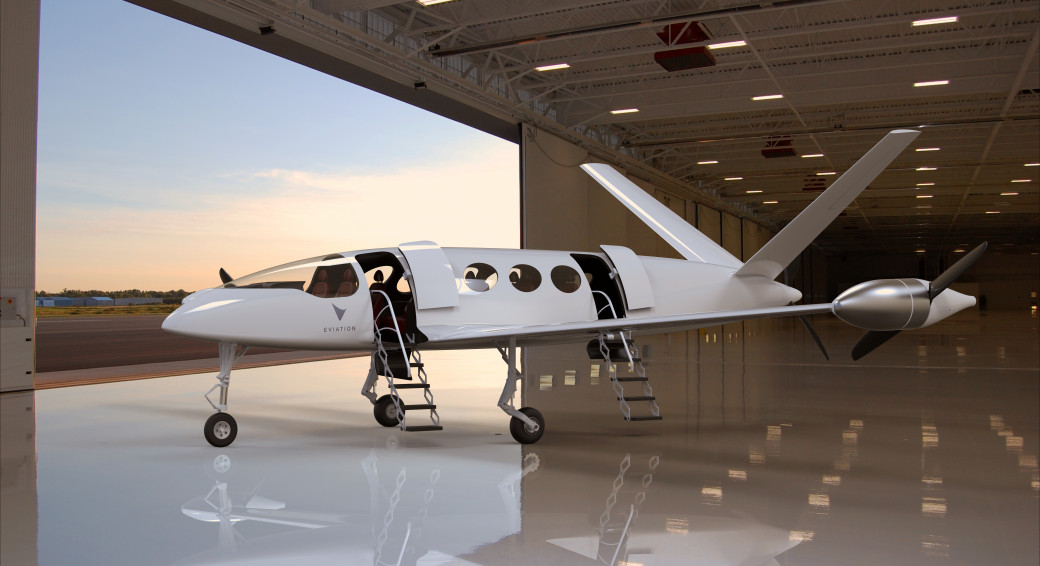 Electric airplane Alice, by Eviation Aircraft