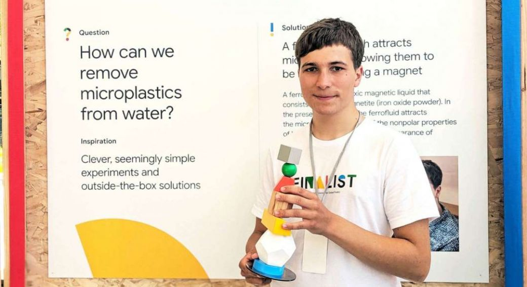 Fionn Ferreira © Google Science Fair