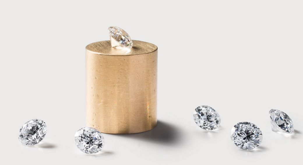 In een lab gekweekte diamanten | Foto via Diamond Foundry