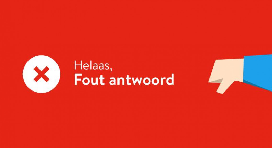 Fout Antwoord