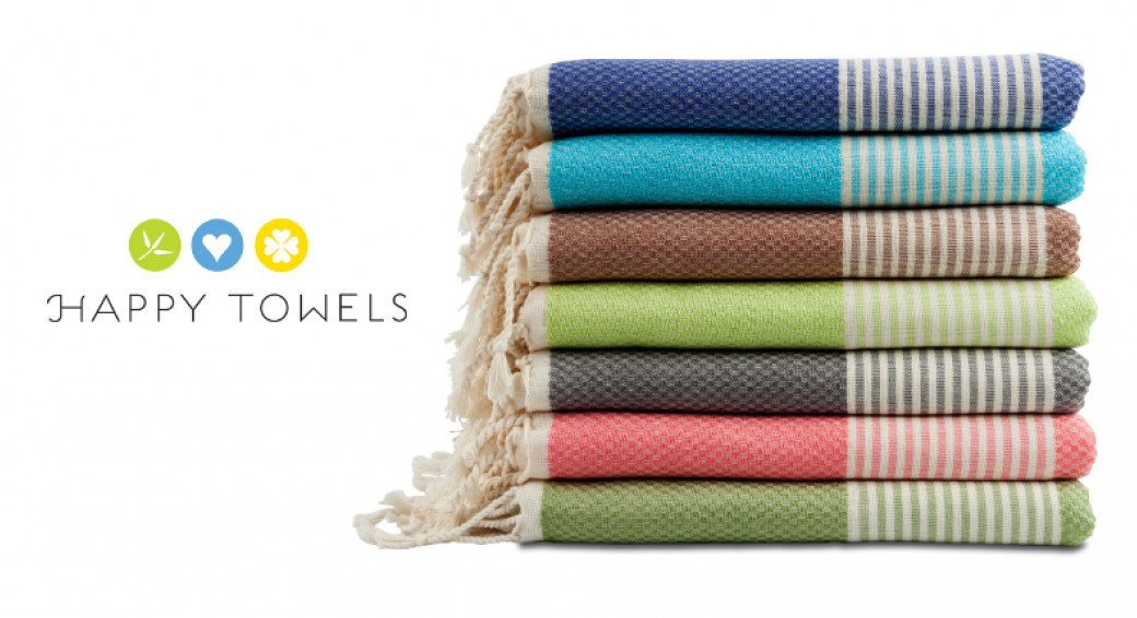 De kleurige Happy Towels