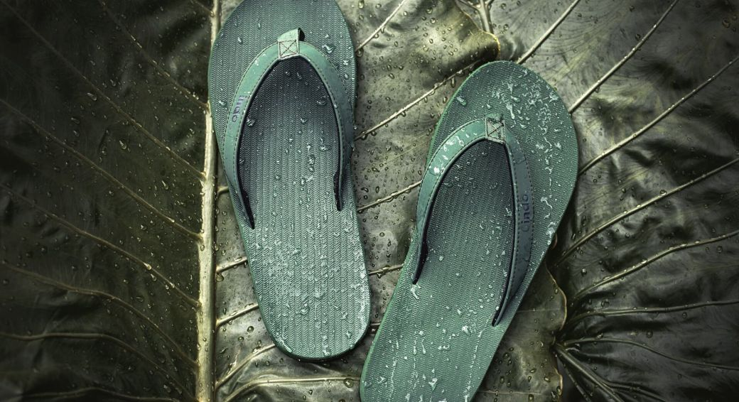 Duurzame slippers | Foto: Indosole