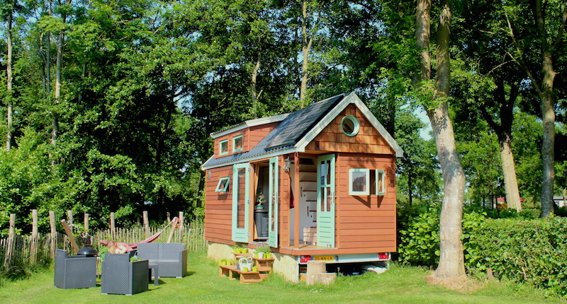 Deze tiny houses staan bijna in nederland for Cost to build a house in georgia
