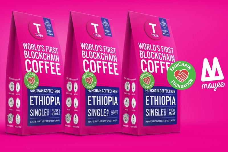Token blockchain coffee