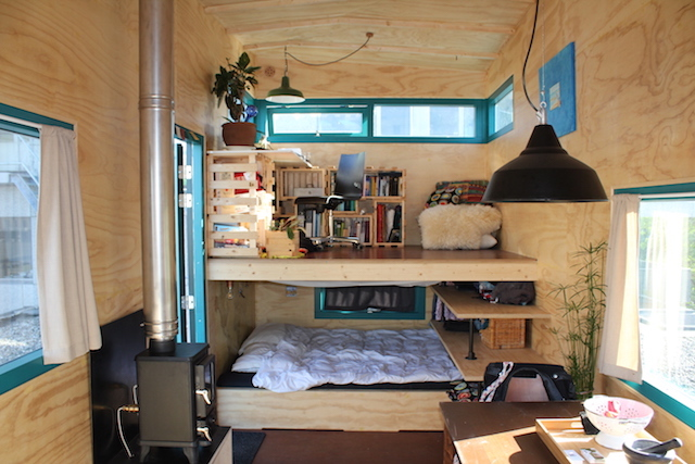 Tiny house van Noortje en Jan-Willem door de Tiny House Academy