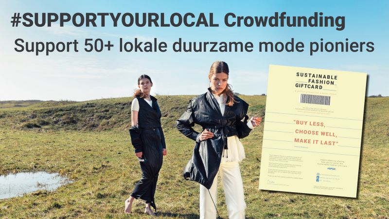 Crowdfunding sustainable fashion